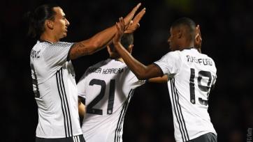 Победы «МЮ», «Манчестер Сити» и  «Тоттенхэма» в очередном раунде Кубка английской Лиги