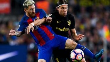 Лионель Месси получил травму в матче с «Атлетико»