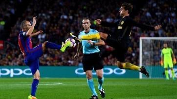 «Барселона» не сумела переиграть «Атлетико»