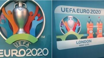 УЕФА представил лого ЧЕ-2020 и детали будущего турнира