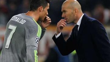 Зидан: «Я не переживаю из-за того, что Роналду не забивает»