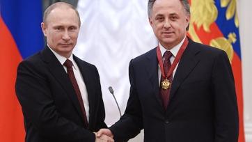 Анохин: «Путин поддерживает Мутко на предстоящих выборах»