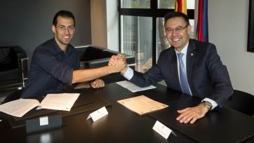 Официально: Бускетс подписал новое соглашение с «Барселоной»