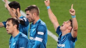 «Зенит» уничтожил «Тамбов» в Кубке России