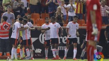 «Валенсия» одержала свою первую победу после четырёх поражений кряду
