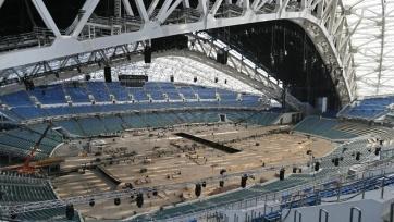 Стадион в Сочи будет сдан в эксплуатацию 30 ноября