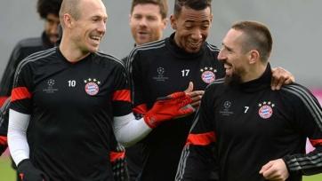 Боатенг и Роббен не выйдут в стартовом составе «Баварии» на поединок с «Гамбургом»