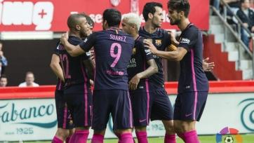 «Барселона» разгромила в Хихоне местный «Спортинг»