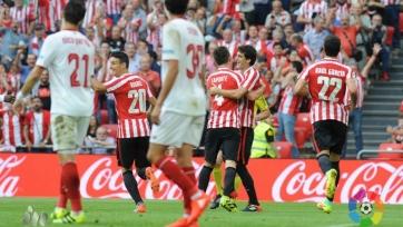 «Атлетик» выиграл четвёртый матч кряду, обыграв «Севилью»
