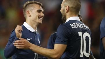 Гризманн: «Я очень надеюсь на то, что Бензема  снова будет играть в сборной Франции»