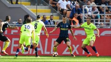 «Интер» на своём поле не смог переиграть «Болонью»