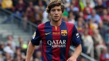 «Барселона» намерена предложить Серхи Роберто новый контракт
