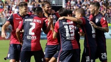 «Кальяри» одержал вторую победу в сезоне
