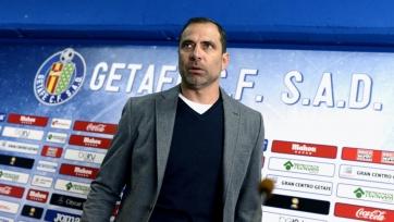 Эснайдер уволен с поста главного тренера «Хетафе»