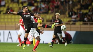«Монако» спасся от поражения в матче с «Байером»