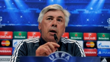 Анчелотти: «Приятно вернуться в Мадрид, а вот на «Висенте Кальдерон» - не очень»