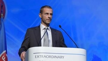 Новый президент УЕФА пока не собирается в Крым