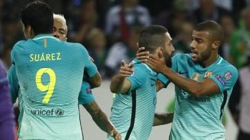 «Барселона» вырвала победу в Менхенгладбахе