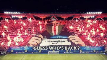 «Легия» проведёт следующий домашний матч в Лиге чемпионов без болельщиков