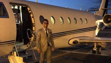 Личный самолёт Роналду потерпел аварию при посадке в аэропорту Барселоны