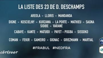 Бензема снова остался вне заявки сборной Франции