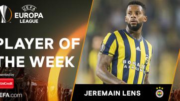 Ленс – лучший игрок недели в Лиге Европы