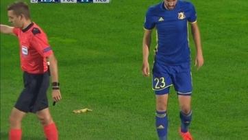 УЕФА не намерен наказывать «Ростов» за инцидент с бананом