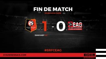 «Ренн» в драматичном матче переиграл «Генгам»