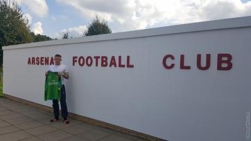 Официально: «Арсенал» подписал 17-летнего голкипера «Селтика»