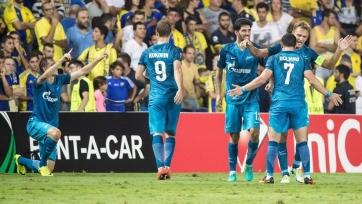 «Зенит» стал самым результативным клубом Европы в сентябре