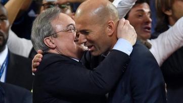 Перес потребовал от Зидана объяснения последних результатов «Реала»