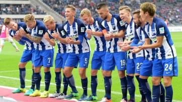 Победы «Герты», «Хоффенхайма» и другие результаты матчей шестого тура Бундеслиги