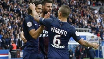 ПСЖ отправил два безответных мяча в ворота «Бордо»