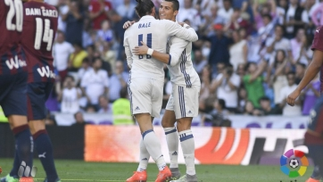 «Реал» потерял очки в матче с «Эйбаром»