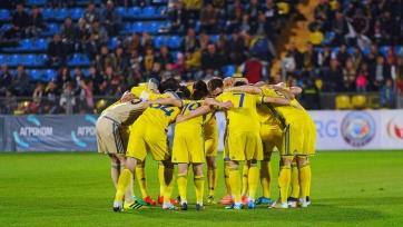 «Ростов» празднует победу в матче с ЦСКА