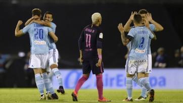 «Барселона» потерпела неудачу в Виго