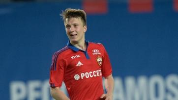 ЦСКА продлил сотрудничество с Александром Головиным