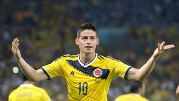 Хамес Родригес получил травму, но будет вызван в расположение сборной Колумбии