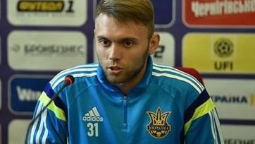 Караваев заменил Цыганкова в заявке украинской сборной