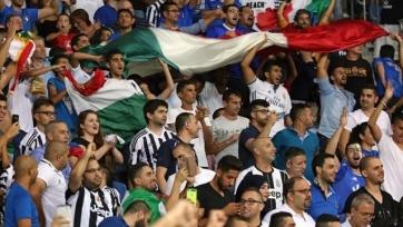Федерация футбола Италии оштрафована за нацистские жесты со стороны фанатов