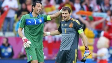 Буффон: «Странно не видеть Касильяса в воротах сборной Испании»