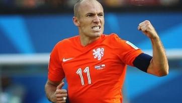 Роббен не поможет Нидерландам в ближайших матчах