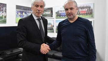 Шалимов официально назначен на пост главного тренера ФК «Краснодар»