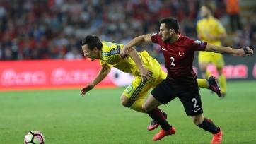 Сборная Украины упустила победу в Турции