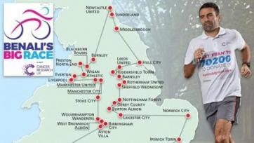 Бывший игрок «Саутгемптона» хочет объехать всю Англию на велосипеде, чтобы собрать миллион фунтов на благотворительные цели