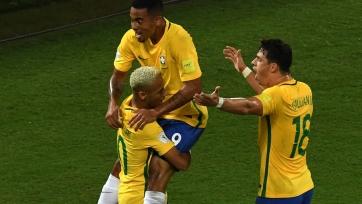 Жулиано сделал голевой пас в матче за сборную Бразилии