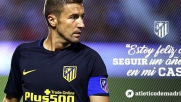 Габи пролонгировал договор с «Атлетико»