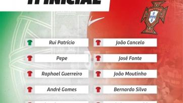 Португалия – Андорра, прямая онлайн-трансляция. Стартовый состав сборной Португалии