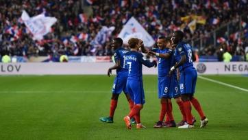 Сборная Франции одержала первую победу в отборочном цикле ЧМ-2018