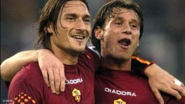 Тотти назвал Кассано лучшим футболистом, с которым он когда-либо играл в одной команде